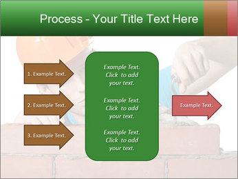 A bricklayer putting bricks PowerPoint Templates - Slide 85