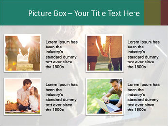 Young couple in love PowerPoint Template - Slide 14