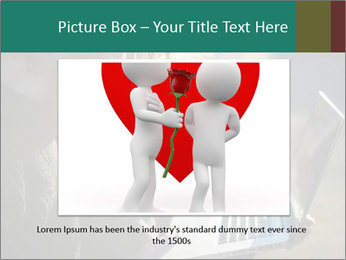 Young couple in love PowerPoint Template - Slide 15