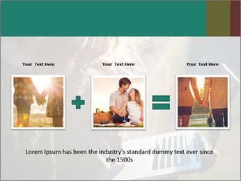 Young couple in love PowerPoint Template - Slide 22