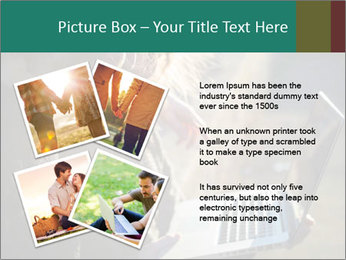 Young couple in love PowerPoint Template - Slide 23
