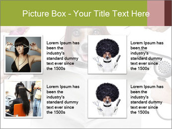 Hairdresser dog PowerPoint Template - Slide 14