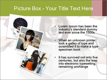 Hairdresser dog PowerPoint Template - Slide 17