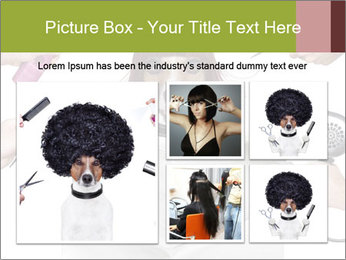 Hairdresser dog PowerPoint Template - Slide 19