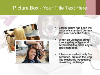 Hairdresser dog PowerPoint Template - Slide 20