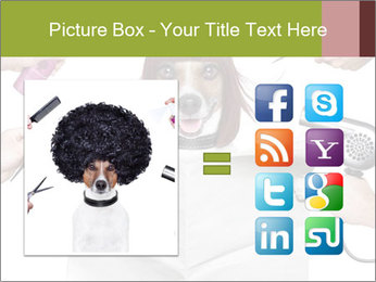 Hairdresser dog PowerPoint Template - Slide 21