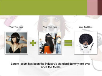 Hairdresser dog PowerPoint Template - Slide 22