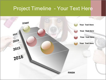 Hairdresser dog PowerPoint Template - Slide 26