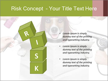 Hairdresser dog PowerPoint Template - Slide 81