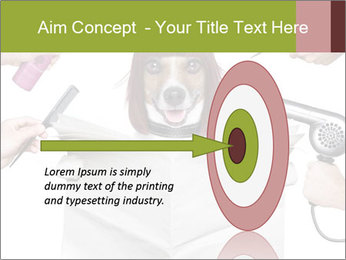 Hairdresser dog PowerPoint Template - Slide 83