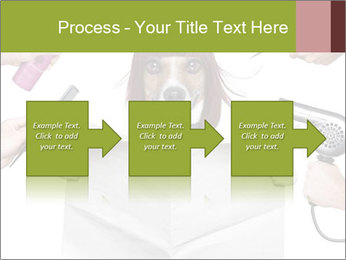 Hairdresser dog PowerPoint Template - Slide 88