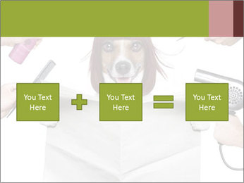 Hairdresser dog PowerPoint Template - Slide 95