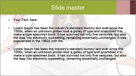 Hairdresser dog PowerPoint Template - Slide 2