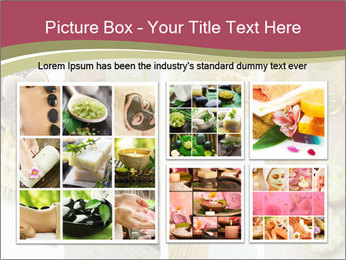Spa Collage PowerPoint Template - Slide 19