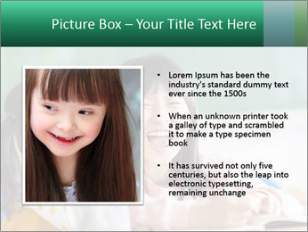 Laughing little girls PowerPoint Template - Slide 13