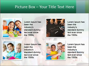 Laughing little girls PowerPoint Template - Slide 14