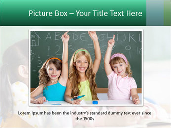 Laughing little girls PowerPoint Templates - Slide 15