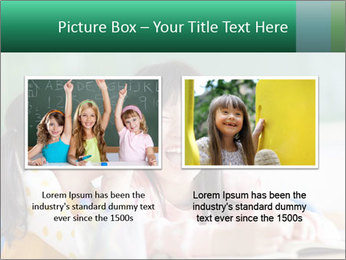 Laughing little girls PowerPoint Template - Slide 18