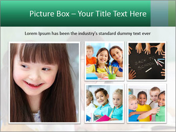 Laughing little girls PowerPoint Template - Slide 19