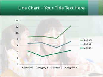Laughing little girls PowerPoint Template - Slide 54