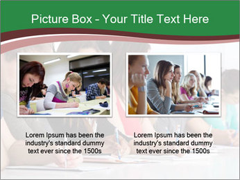Portrait of smiling college student PowerPoint Template - Slide 18