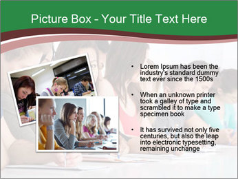 Portrait of smiling college student PowerPoint Template - Slide 20