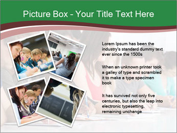 Portrait of smiling college student PowerPoint Template - Slide 23