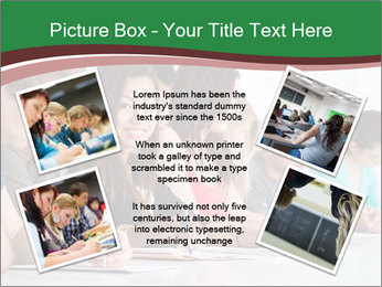 Portrait of smiling college student PowerPoint Template - Slide 24