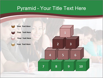 Portrait of smiling college student PowerPoint Template - Slide 31