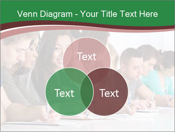 Portrait of smiling college student PowerPoint Template - Slide 33