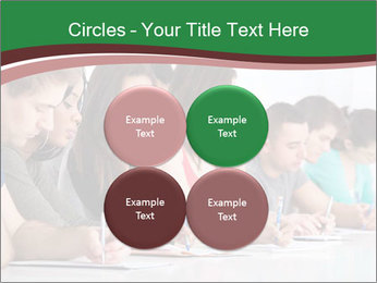 Portrait of smiling college student PowerPoint Template - Slide 38