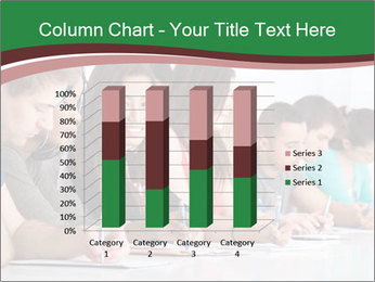 Portrait of smiling college student PowerPoint Template - Slide 50