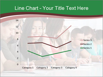 Portrait of smiling college student PowerPoint Template - Slide 54
