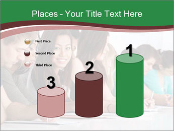 Portrait of smiling college student PowerPoint Template - Slide 65