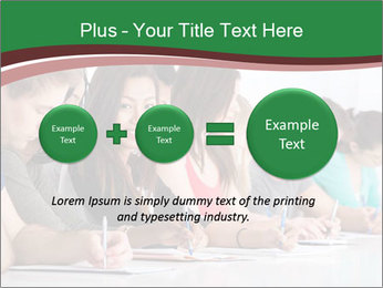 Portrait of smiling college student PowerPoint Template - Slide 75