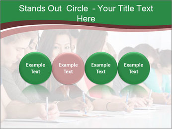Portrait of smiling college student PowerPoint Template - Slide 76