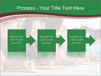 Portrait of smiling college student PowerPoint Template - Slide 88