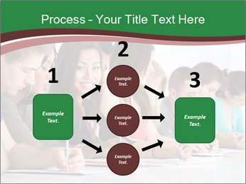 Portrait of smiling college student PowerPoint Template - Slide 92