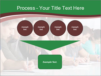 Portrait of smiling college student PowerPoint Template - Slide 93