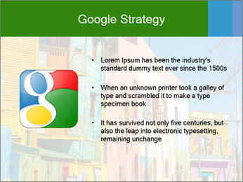 Bright colors of Caminito street PowerPoint Template - Slide 10