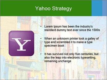 Bright colors of Caminito street PowerPoint Template - Slide 11