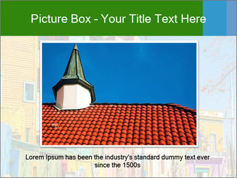 Bright colors of Caminito street PowerPoint Template - Slide 16