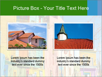 Bright colors of Caminito street PowerPoint Template - Slide 18