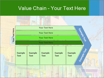 Bright colors of Caminito street PowerPoint Template - Slide 27