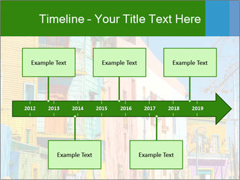 Bright colors of Caminito street PowerPoint Template - Slide 28