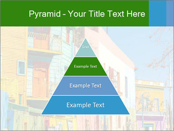 Bright colors of Caminito street PowerPoint Template - Slide 30