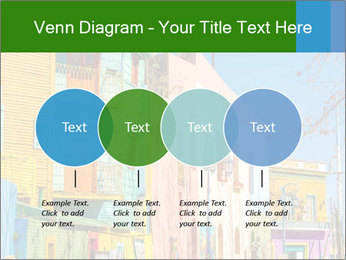 Bright colors of Caminito street PowerPoint Template - Slide 32