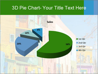 Bright colors of Caminito street PowerPoint Template - Slide 35