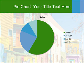 Bright colors of Caminito street PowerPoint Template - Slide 36