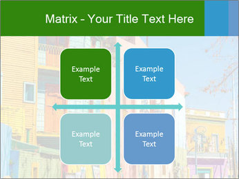 Bright colors of Caminito street PowerPoint Template - Slide 37